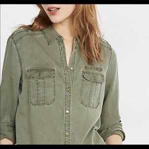 Express soft twill shirt